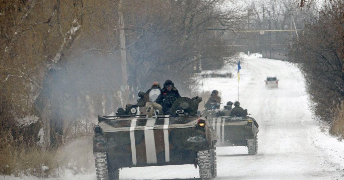 """Бойовики підтягують нові батареї """"Градів"""": мапа боїв під Авдіївкою"""