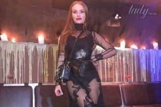 """В прозрачном платье и с дорогой сумочкой: """"НеАнгел"""" Слава впечатлила сексуальным образом на вечеринке"""