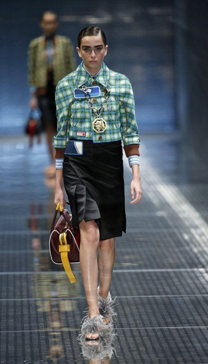 Коллекция Prada прет-а-порте сезона весна-лето 2017 @ East News