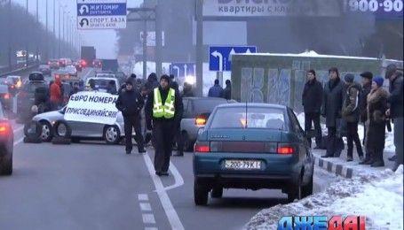 В украинцев будут конфисковывать машины с иностранной регистрацией
