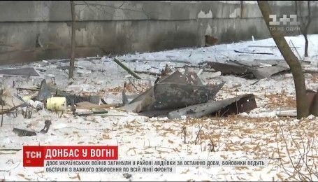 Лінія фронту у вогні: гарантована росіянами тиша довго не протрималась