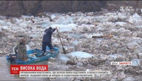 На Закарпатье частично остаются подтопленными 16 хозяйств