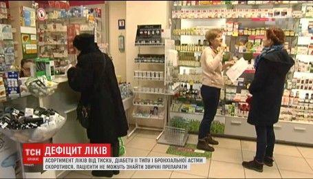 В аптеках исчезают с полок лекарства от самых распространенных болезней