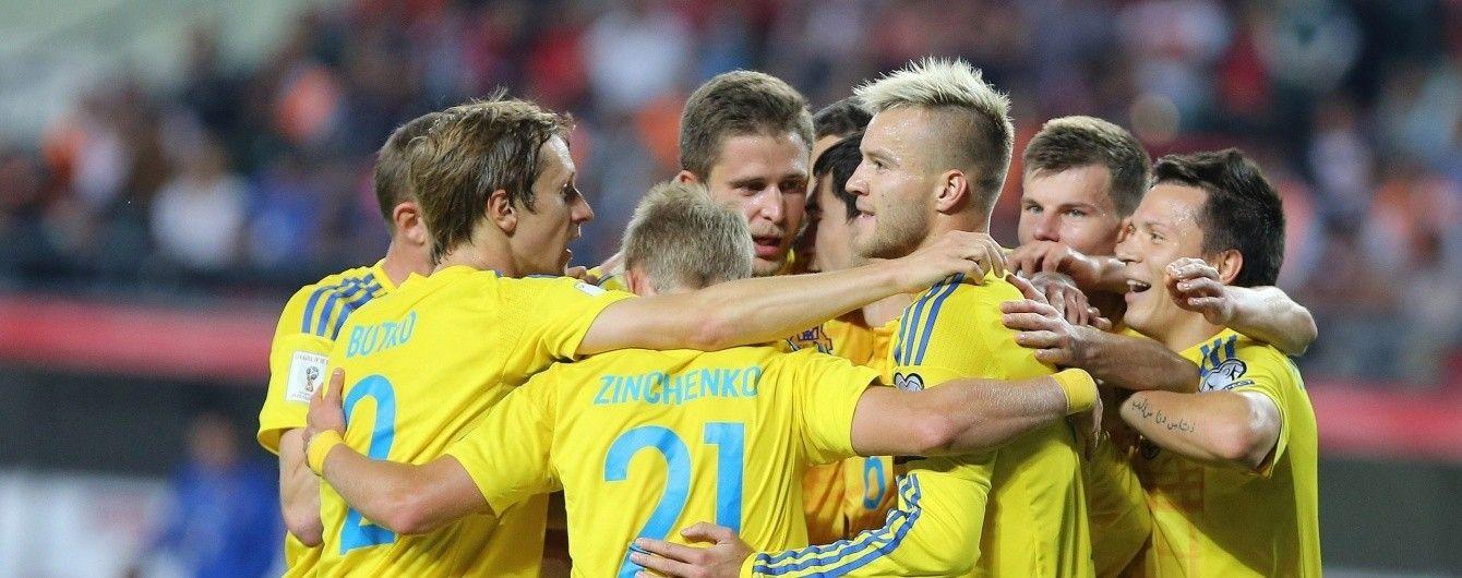 Украина сохранила позиции в рейтинге ФИФА, Россия – обновила антирекорд