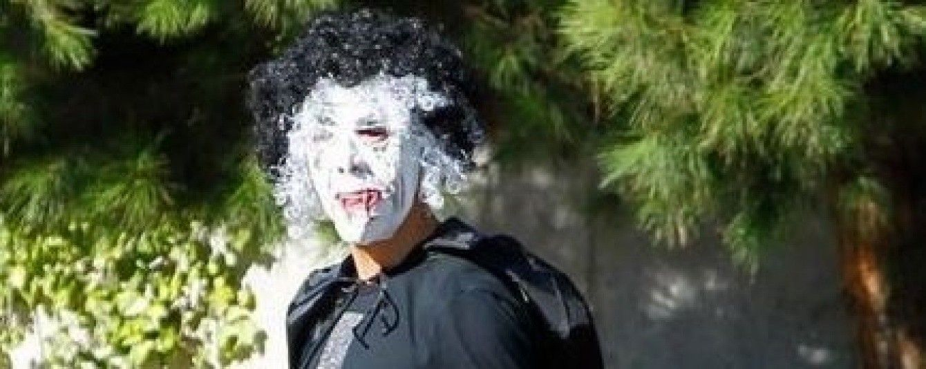 Роналду забрав сина зі школи в масці злобливого супергероя