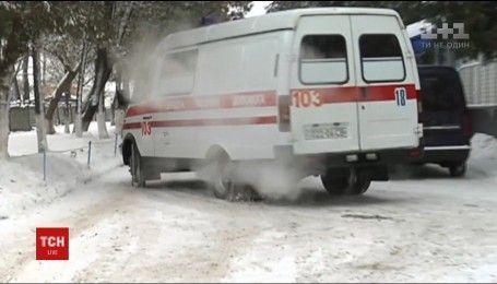 Левобережную Украину окутали сильные морозы
