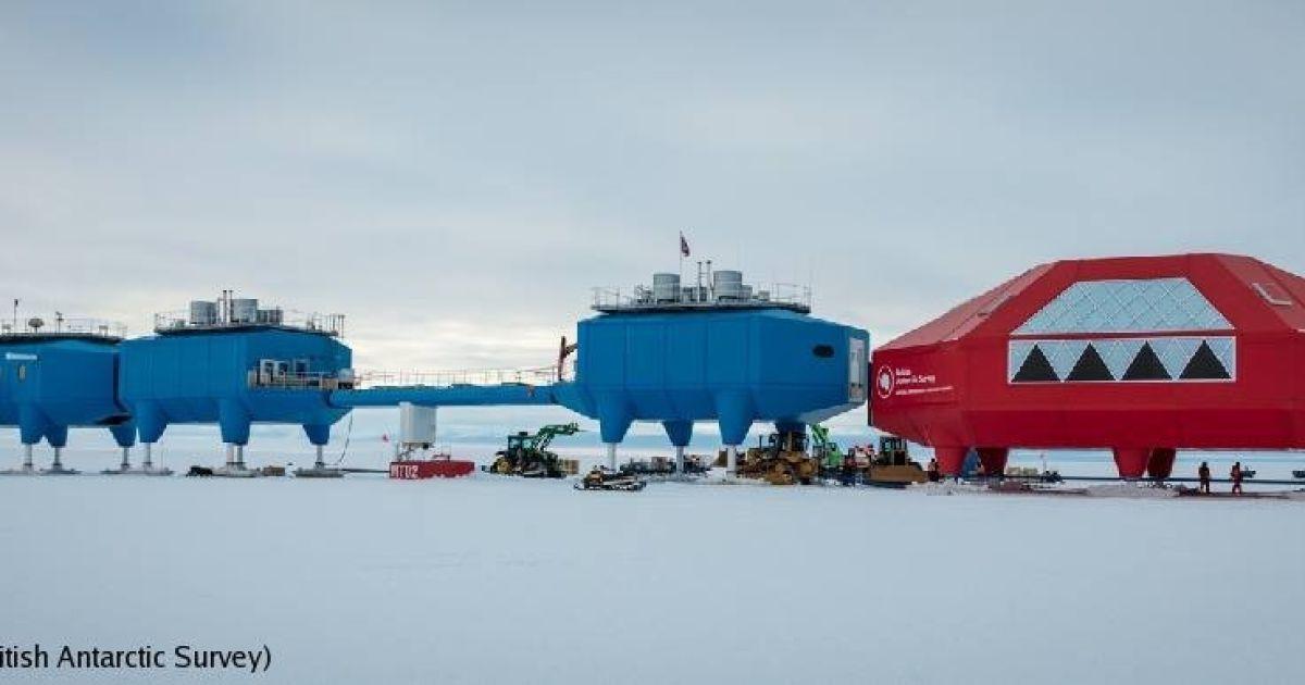 @ British Antarctic Survey / Facebook
