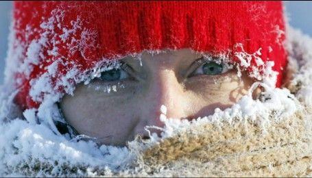 Як уникнути обмороження під час сильних холодів