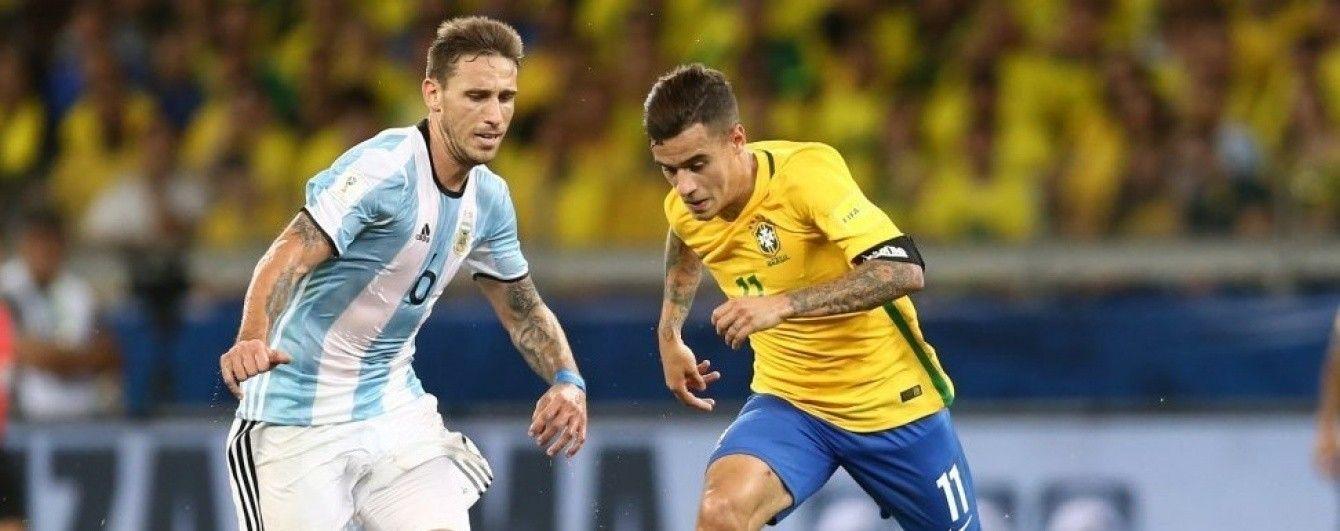 Бразилия и Аргентина проведут товарищеский поединок в Австралии