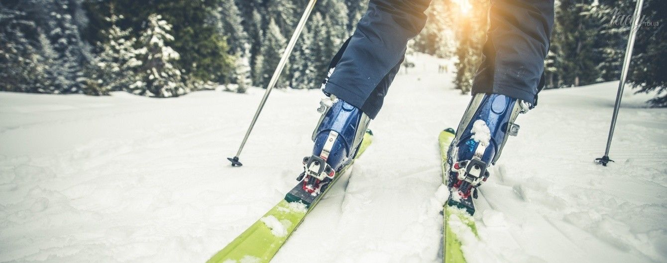 Кататься на лыжах секс