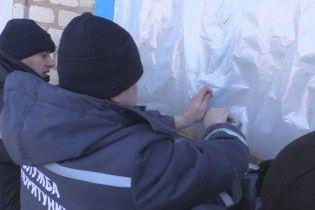 Более 60 человек эвакуировали из аварийного дома на Луганщине