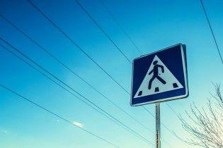 В Киеве пешеходные переходы оборудуют сенсорными фонарями