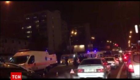 Під час масштабної аварії в Києві загинула жінка