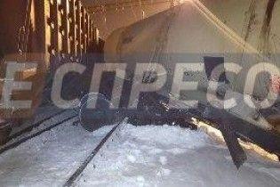 Залізничники розповіли подробиці зіткнення поїздів у Києві