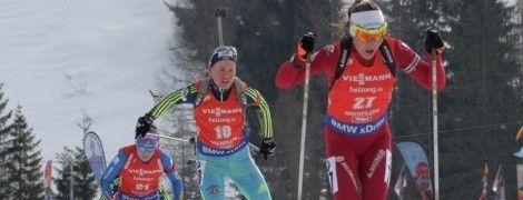 Сборная Украины по биатлону финишировала в топ-10 смешанной эстафеты на Чемпионате Европы