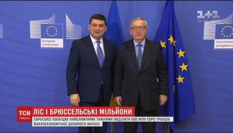 Премьер Гройсман договорился об очередном транше макроэкономической помощи