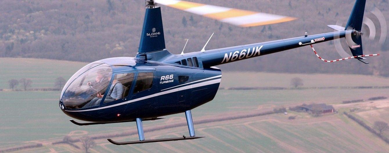 В России  вертолет во время взлета потерпел крушение и загорелся. Есть погибшие