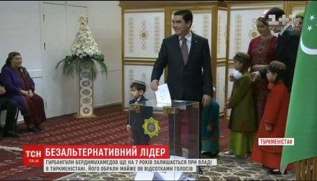 Туркменістан знову обрав на посаду президента Гурбангули Бердимухамедова