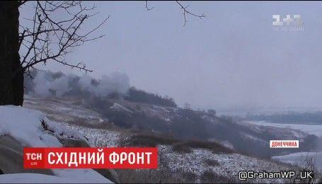 На восточном фронте ранен один украинский боец
