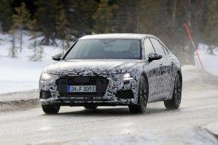 Audi вывела на тесты A6 нового поколения
