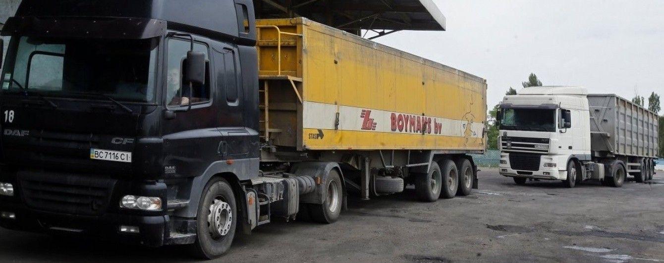 РФ частично открыла транзит для украинских товаров