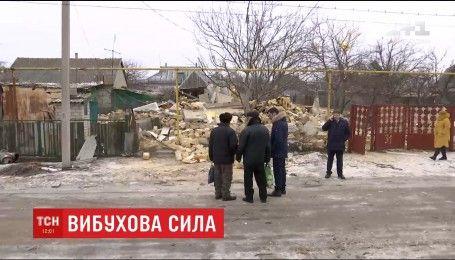 На Одещині потужний вибух вщент зруйнував приватний будинок