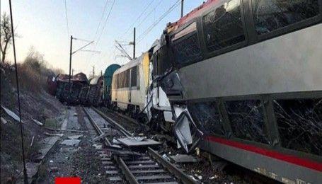 В Люксембурге столкнулись пассажирский и товарный поезда, есть пострадавшие