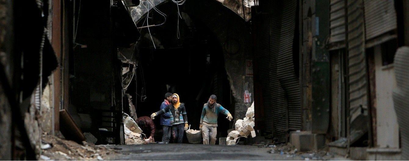 В Алеппо возобновил работу крупнейший в мире исторический крытый рынок