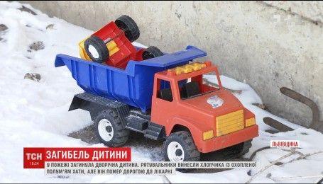 В результате пожара на Львовщине погиб 2-летний ребенок
