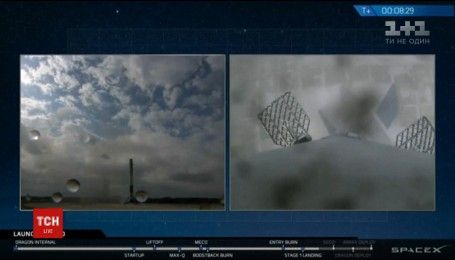 Ракета-носій Фолкен-9 вдало повернулася на Землю