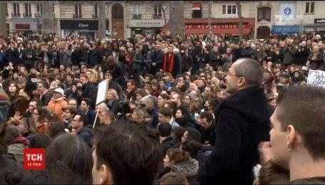 Тисячі французів вийшли на акції протесту проти корупції в Парижі