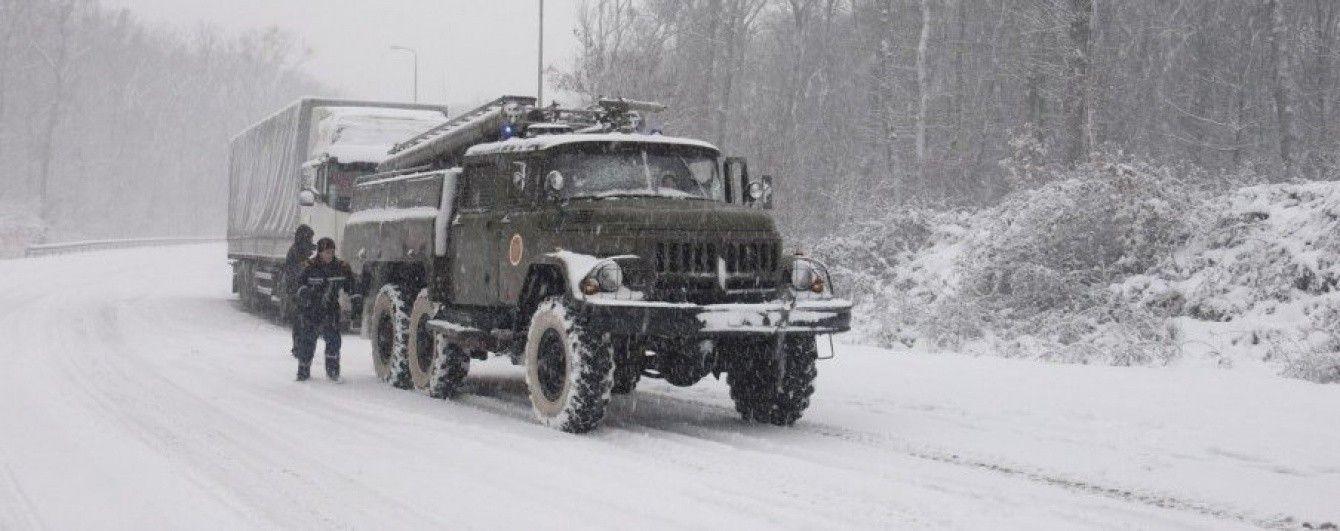 На дорогах Украины движение полностью восстановлено