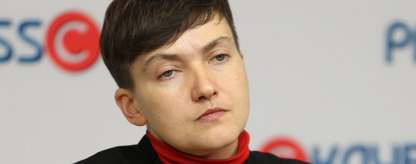 Савченко погодилась поїсти заради допиту на поліграфі