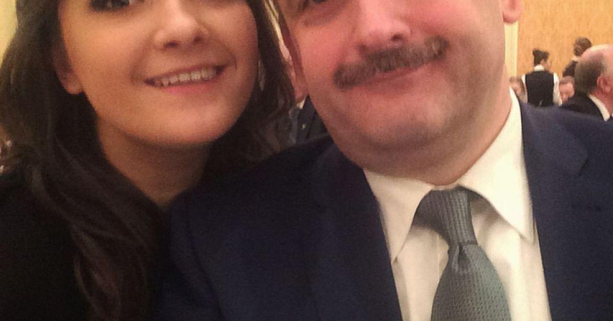 Наталья с отцом @ Facebook/Nataliya Boyko