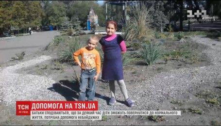 Врачи борются за жизнь обгоревших при пожаре в Мариуполе детей