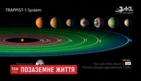 Семь планет вне Солнечной системы могут быть заселенными