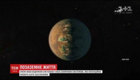 НАСА нашла планеты вне Солнечной системы, на которых, возможно, есть жизнь