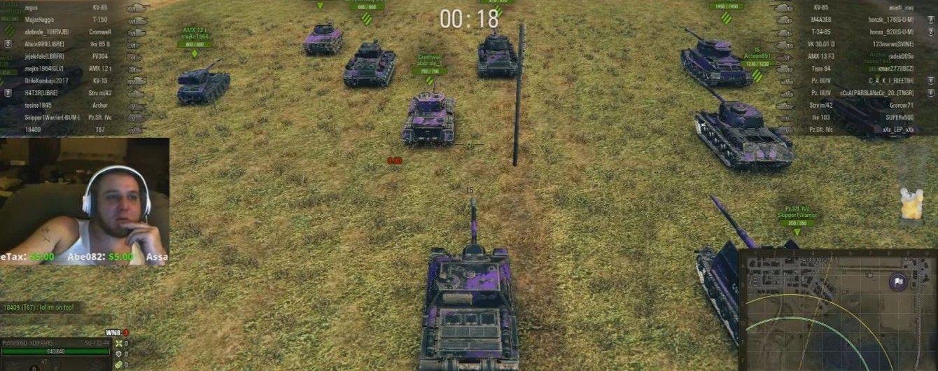 В США умер геймер во время 24-часового стриминга игры World of Tanks