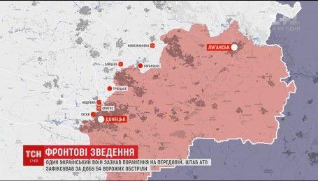 """Оккупанты ведут обстрелы с """"Градов"""", артиллерии и минометов"""