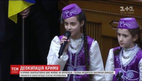 Председатель Меджлиса призвал изменить статус полуострова