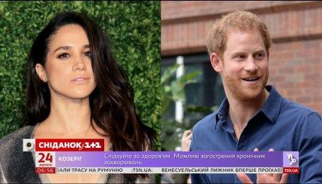 Меган Маркл відмовилася від зйомок у фільмі заради принца Гаррі