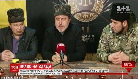 Рефат Чубаров шокирован планом Артеменко по Крыму