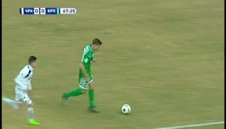 Чорноморець - Карпати - 1:0. Відео-огляд матчу