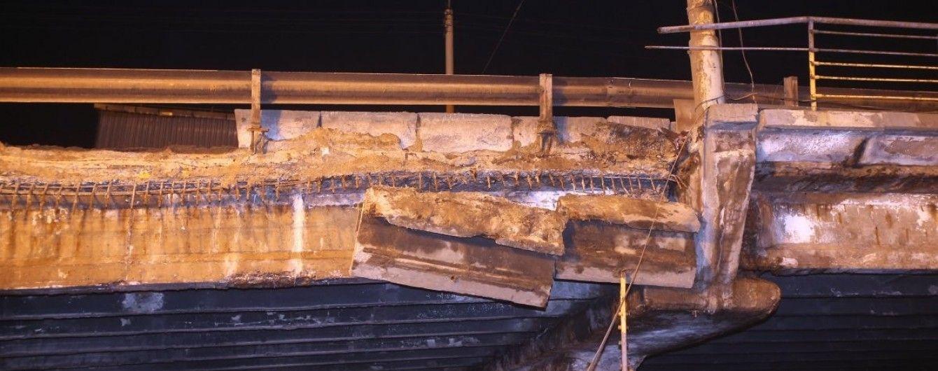 Обвал Шулявского путепровода. Что нужно знать о серьезном разрушении в Киеве