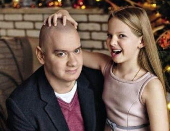 Євген Кошовий з донькою