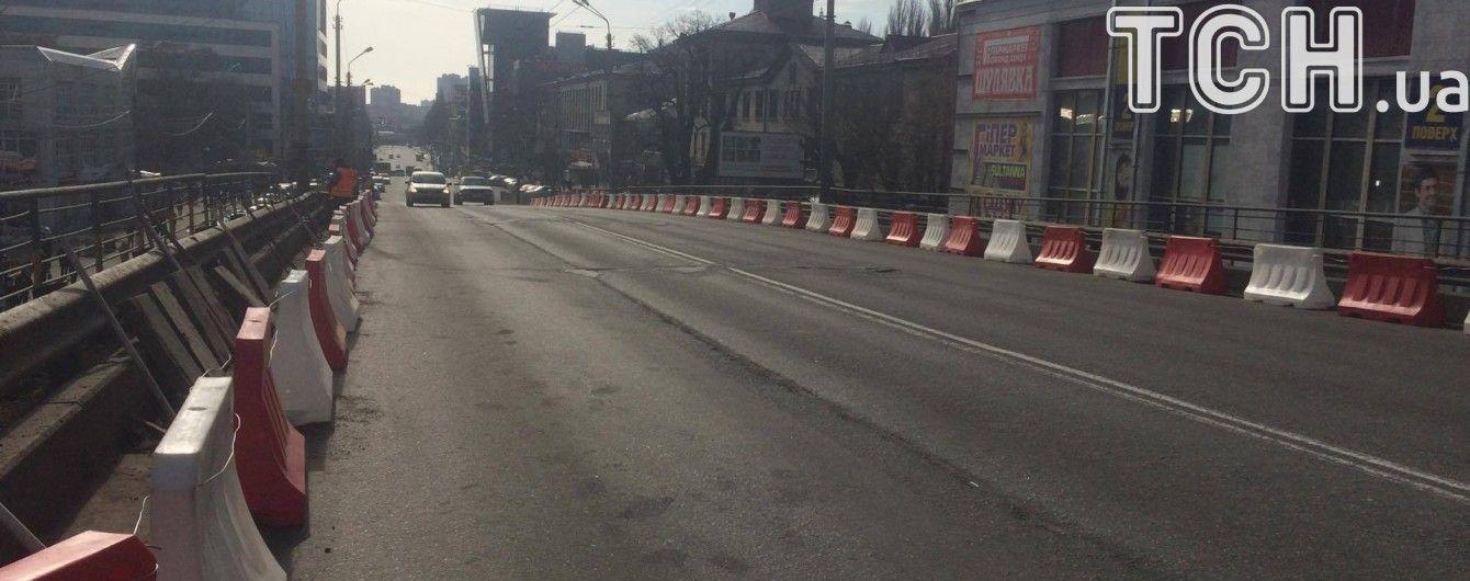 У Києві найближчими днями почнуть перекривати Шулявський шляхопровід