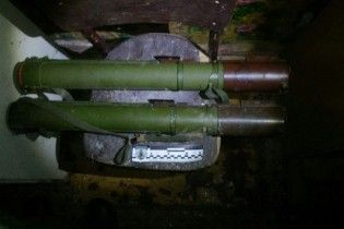 СБУ виявила в зоні АТО схрон із гранатометами