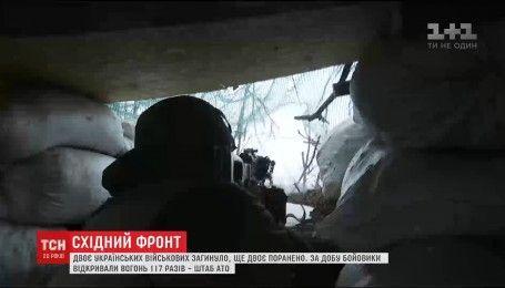 Фронтові зведення: двоє українських військових загинуло, ще двох поранено
