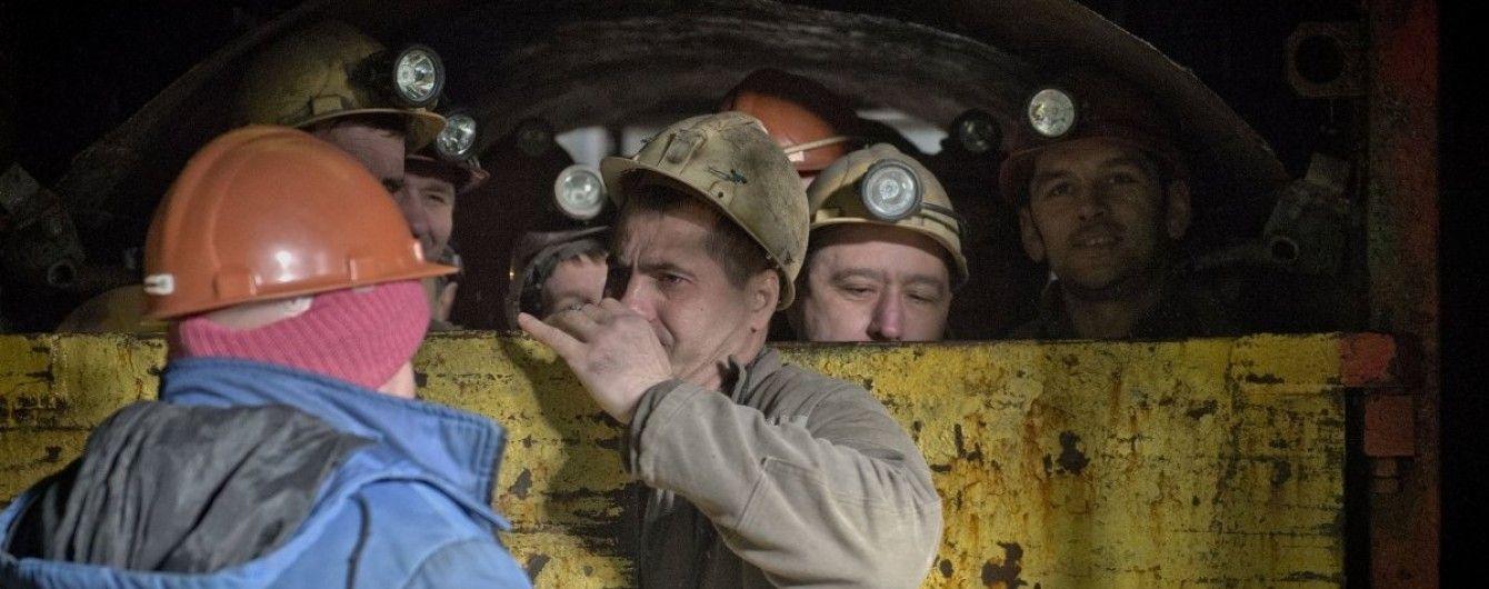 На Волині гірники відмовляються підніматися на поверхню через кількамісячну заборгованість у виплаті зарплат