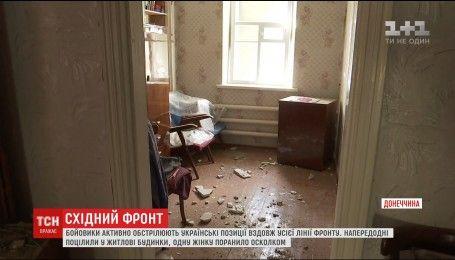 На фронте враг с крупнокалиберной артиллерии накрывает украинских военных